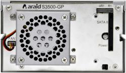 ARAID 3500 rear panel sata